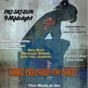 Club Poster - Battleaxe Fishback