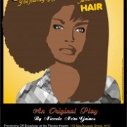 Poster - Hairatage the Play