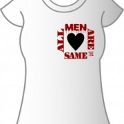 T-Shirt All Men Are the Same