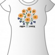 T-Shirt Earth Chick