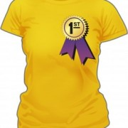 T-Shirt First Place