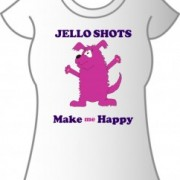 T-Shirt Jello Shots