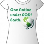 T-Shirt One Nation Earth