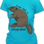 T-Shirt Toothless Beaver