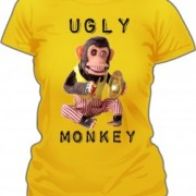 T-Shirt Ugly Monkey