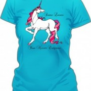 T-Shirt Unicorn Love