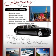 Luxury Tours Flyer