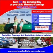 Car Warranty Insurance Flyer
