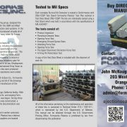 Formworks Plastics Z-Fold Brochure
