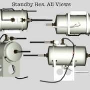 3D Model Standby Reservoir