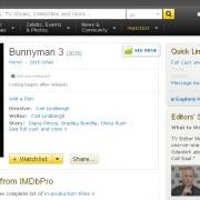 Bunnyman 3 IMDB Listing