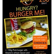 Bangkok Burger Co. Famous Lunch Set
